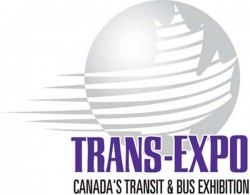 White block with Trans-Expo - Canada's Transit & Bus Exhibition